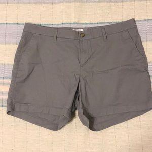 Gray cargo shorts size 14